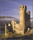 Rhine valley with its many fairy tale castles