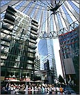 Travel Guide Berlin: Sony Center - Foto: Partner für Berlin, FTP - Werbefotographie